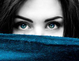 zielone oczy